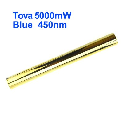 Tova Class 4 5W 5000mW High Powered Burning 450nm Blue Laser