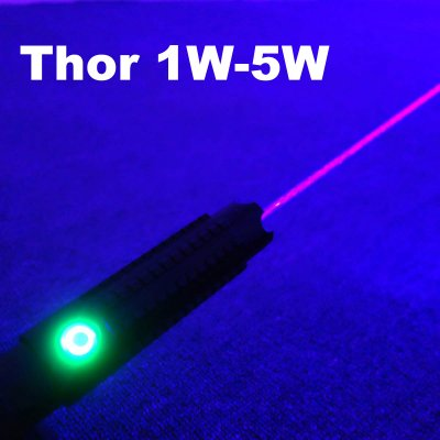 Thor Burning Laser Pointer