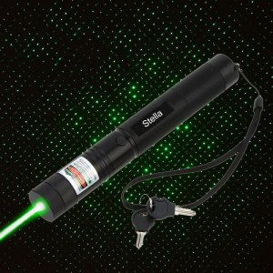 Stella 200mW Green Laser Pointer - Class 3B 532nm Green Burning Laser