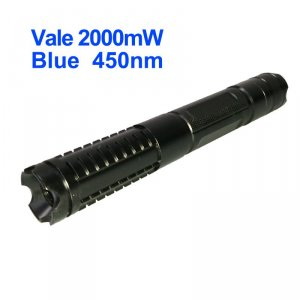 Vale 2W Blue Laser Pointer - Class 4 2000mW 450nm Burning Laser